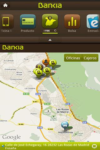 Aplicaciones bancarias para android for Telefono oficina bankia