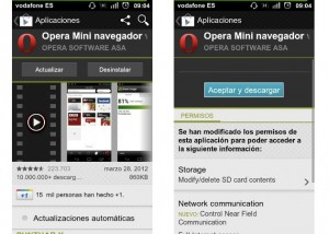Opera Mini se actualiza a la versin 7