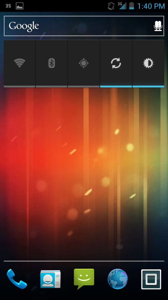 Motoblur Launcher para Android Ice Cream Sandwich