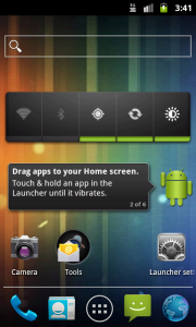 Holo Launcher, alternativa al launcher de Ice Cream Sandwich para versiones anteriores