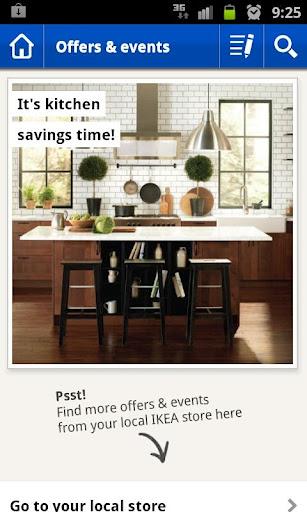 Organiza las compras de muebles con ikea para android for Ikea compra tus muebles