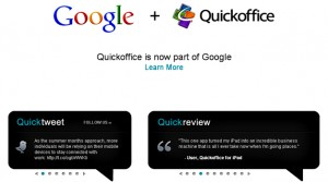 Google compra Quickoffice