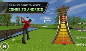 Tiger Woods PGA Tour 12, posiblemente el mejor juego de golf para Android