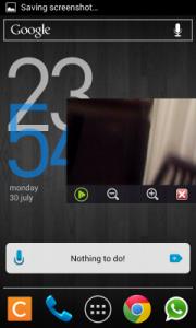 Modo ventana en Mobo Player para Android