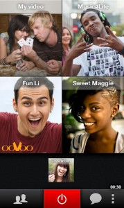 Videollamada múltiple con ooVoo para Android