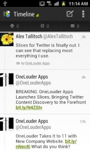Slices for Twitter para Android