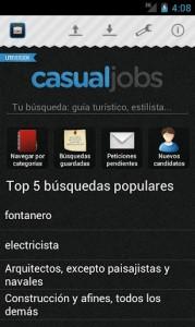 CasualJobs para Android