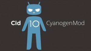 Logo de CyanogenMod 10