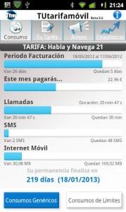TUtarifamóvil para Android