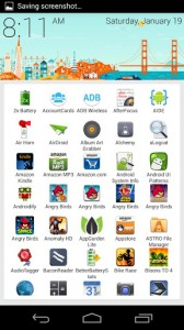 SF Launcher Alpha para Android