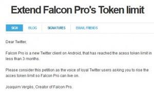 Falcon Petition