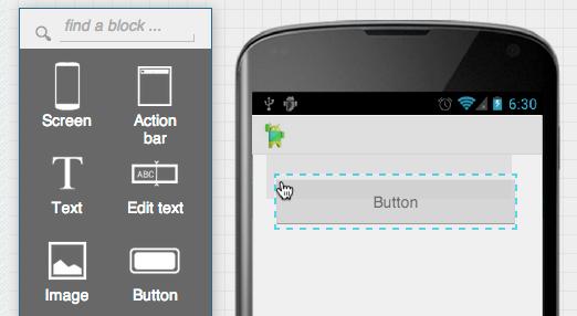 Aplicación para Android en Jimu