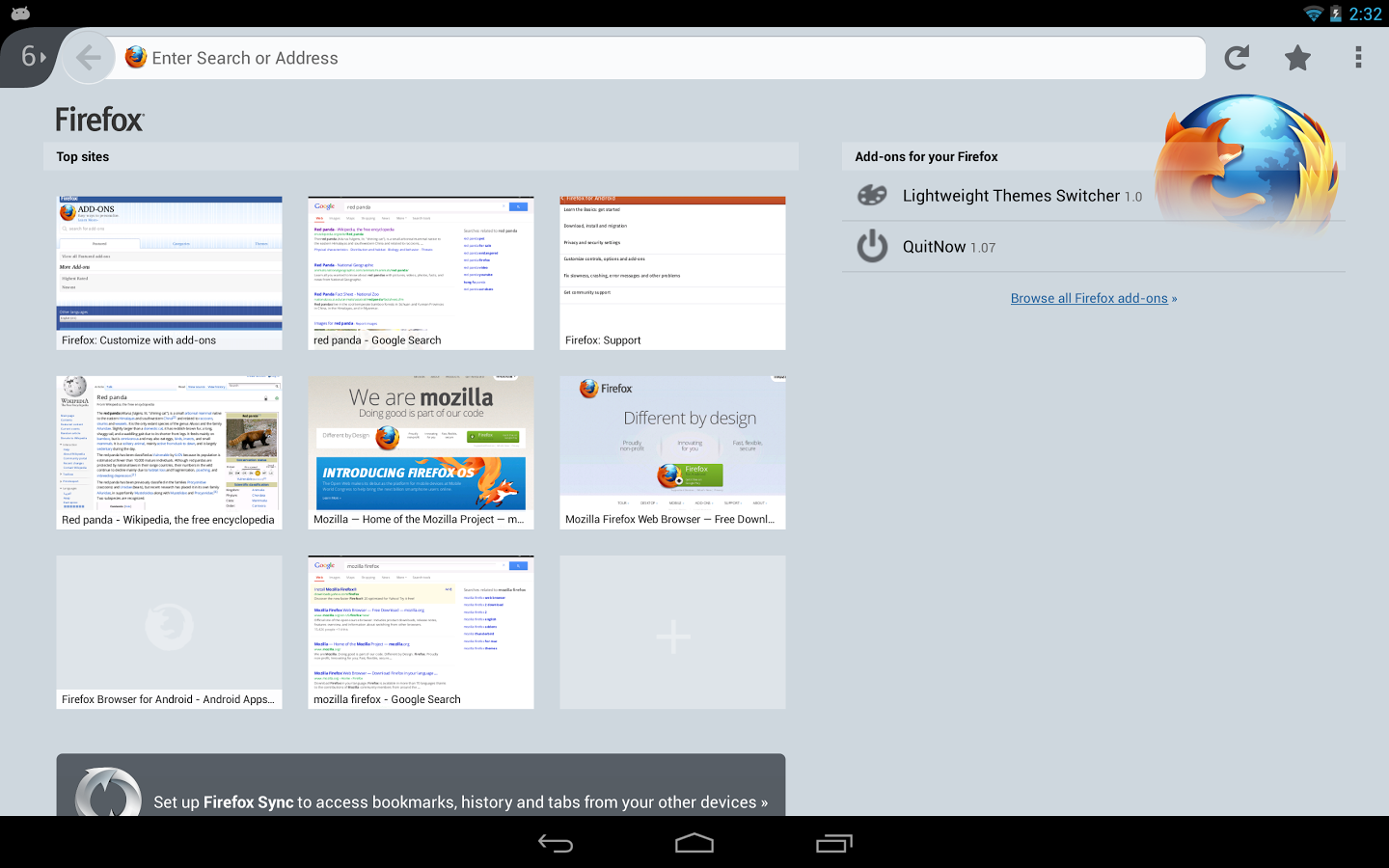 Ya disponible Firefox 25 para Android