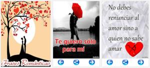 Frases Románticas, una app dedicada al amor