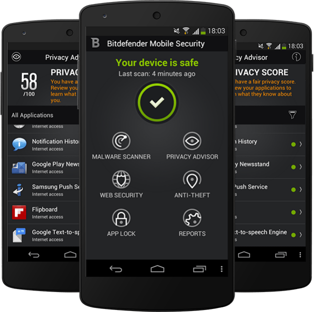 Protege tus dispositivos con Bitdefender Mobile Security