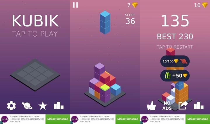 Kubik, un rompecabezas en tres dimensiones muy adictivo