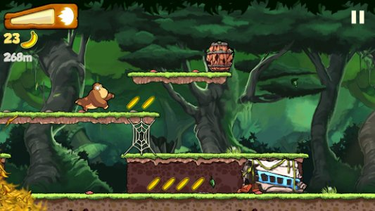 Banana Kong, un plataformas muy mono