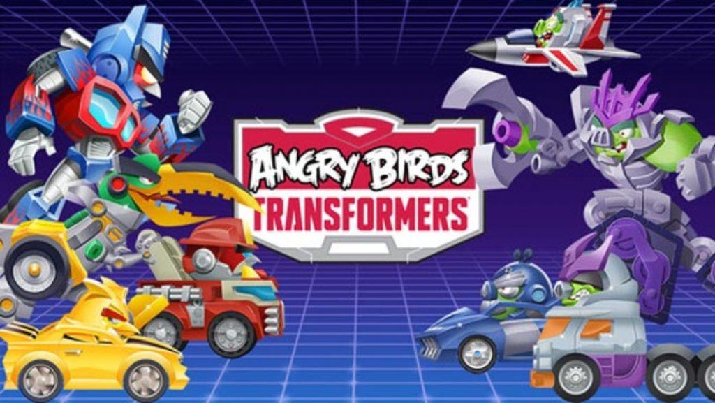 Angry Birds: Transformers, lo nuevo de la saga de los pájaros furiosos