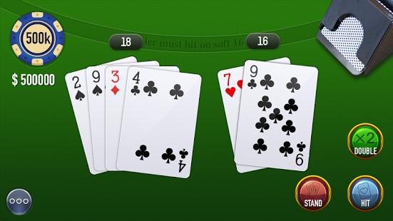 Blackjack, uno de los mejores juegos de cartas para Android
