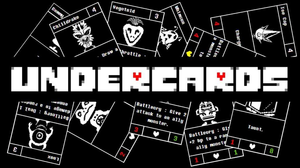 Undercards, un juego de cartas basado en el universo Undertale