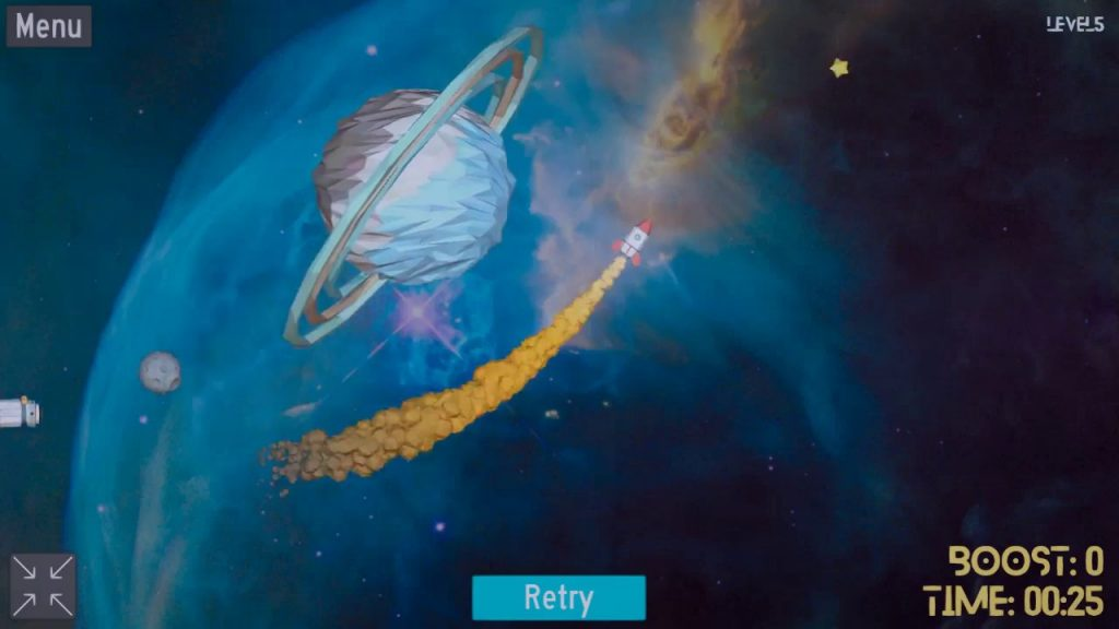 Rocket Sling, un juego para ponerse en órbita