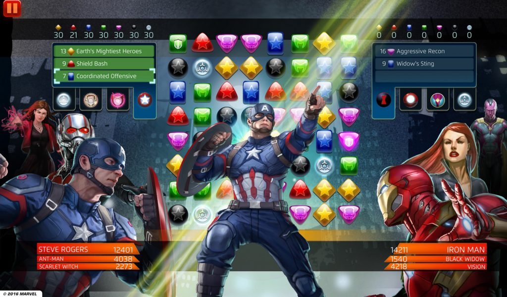 Marvel Puzzle Quest, un juego de rol con cartas en el universo de los superhéroes