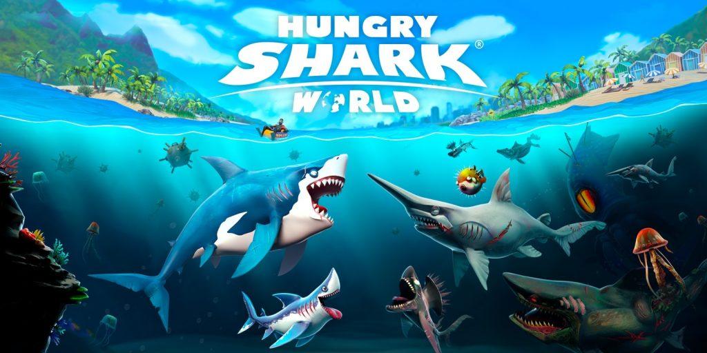 Hungry Shark World, conviértete en un tiburón insaciable en este juego Android