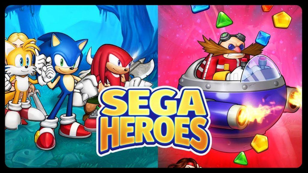 SEGA Heroes, un divertido juego que reúne a las estrellas de Sega