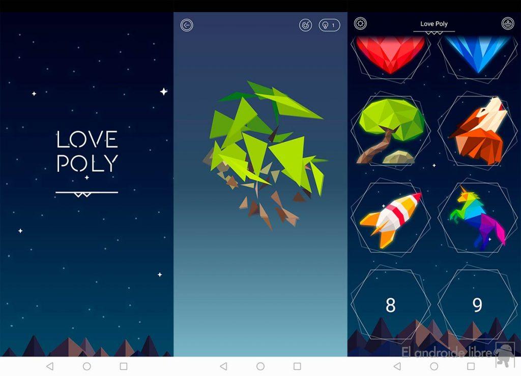 Love Poly, un desafiante y divertido puzle que juega con tu perspectiva