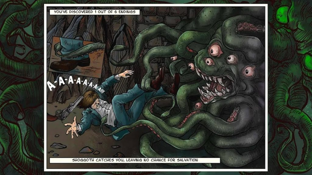 Lovecraft Quest: Cthulhu Rising nos descubre el terrorífico mundo del horror cósmico