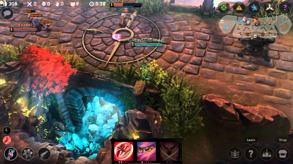 Vainglory, batallas multijugador en la arena de Android
