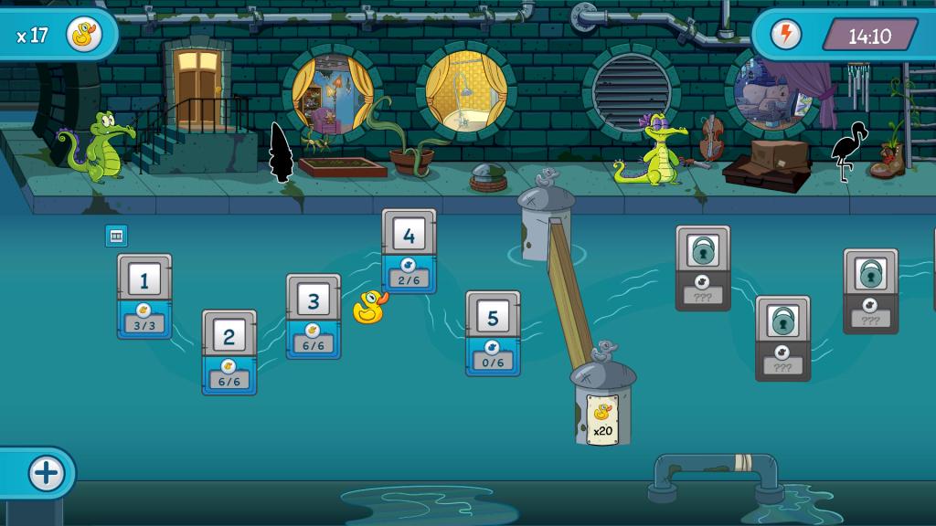 Where Is My Water? 2, un divertido  y sencillo juego para guiar el agua a su destino