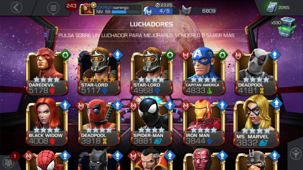 Marvel: Batalla de Superhéroes, un juego de lucha con épicas batallas superhéroicas