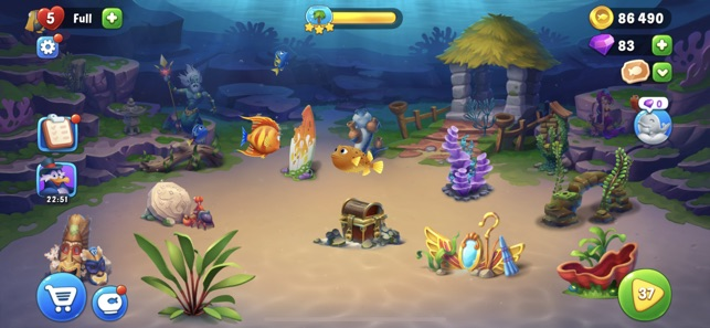 Fishdom, un divertido acuario virtual para Android