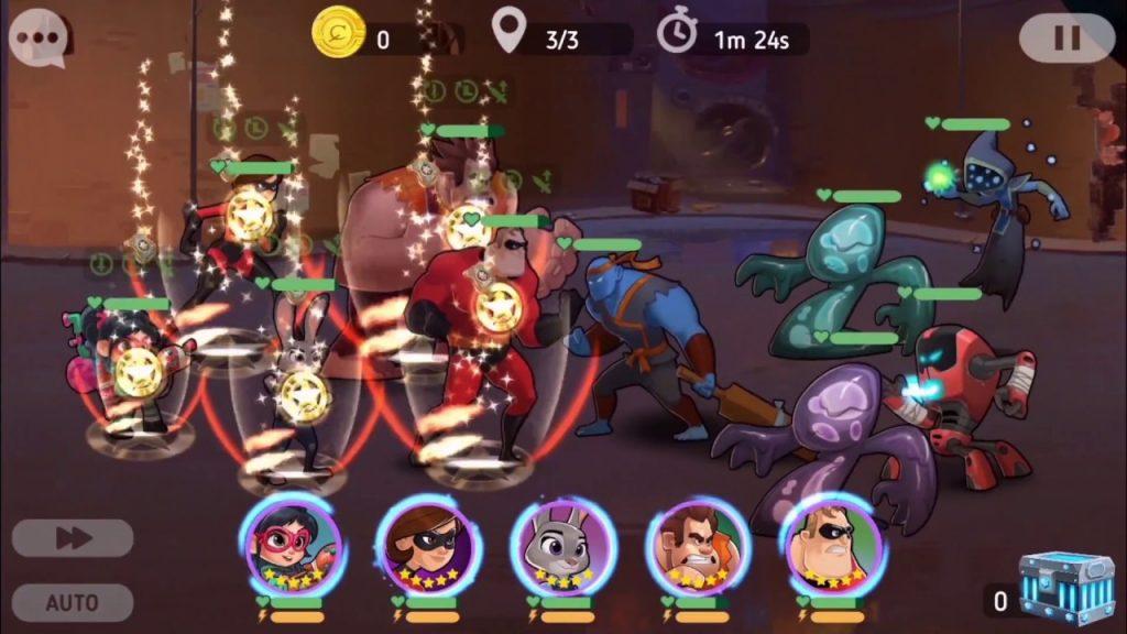 Disney Heroes: Battle Mode, los héroes de Disney y Pixar se enfrentan en tu Android