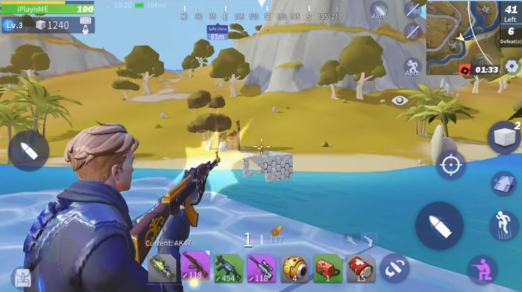 Creative Destruction, un battle royale diferente para Android
