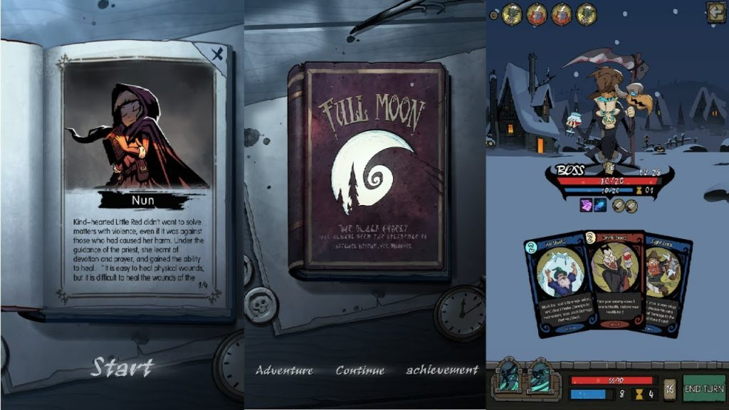 Night of the Full Moon, un juego de cartas oscuroy adictivo