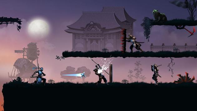 Ninja Warrior, un plataformas de lucha en las sombras