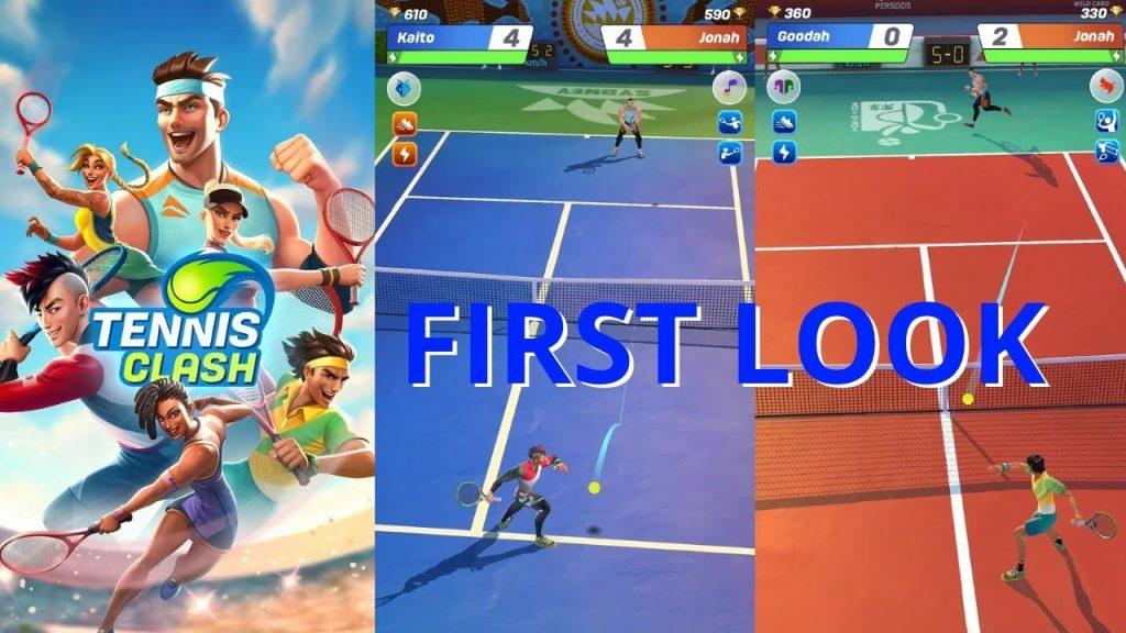 Tennis Clash, un espectacular juego 3D que nos sacará al centro de la pista