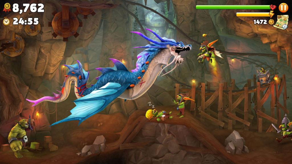 Hungry Dragon, desata la furia de las llamas infernales en tu Android