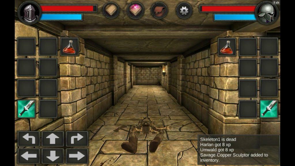 Moonshades, un RPG de la vieja escuela para disfrutar en Android