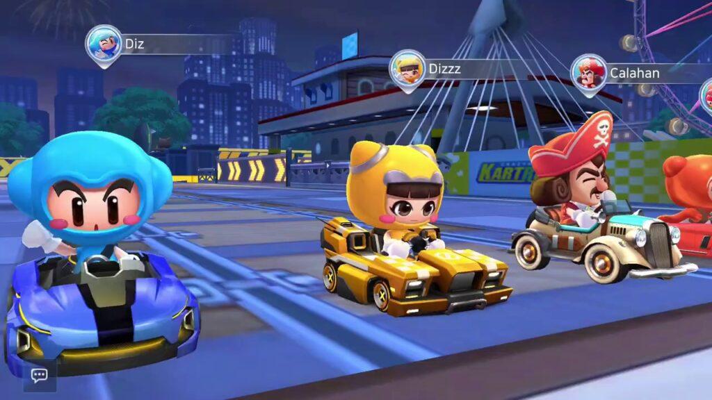 KartRider Rush+, un juego de carreras divertido y épico con mucho colorido