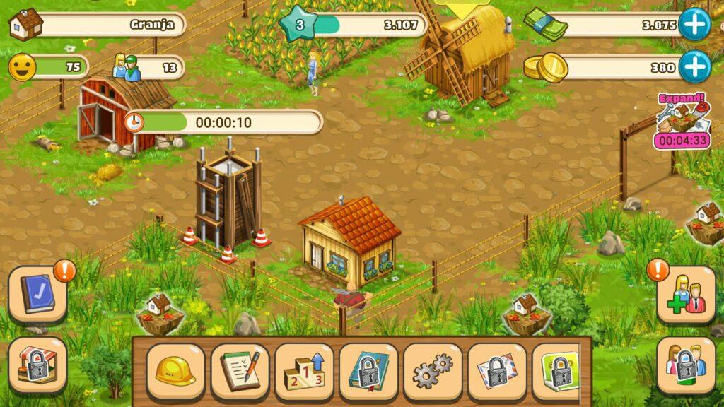 Big Farm: Mobile Harvest, conviértete en Granjero en tu Android