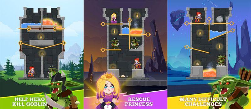 Hero Rescue, un heróe al rescate de la princesa en Android