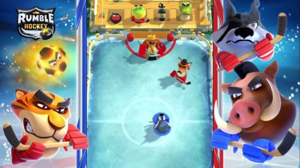 Rumble Hockey, un alocado juego deportivo para Android