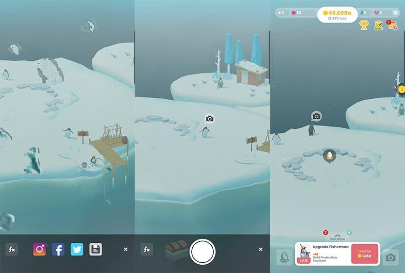 Isla Pingüino, un adorable y relajante juego para Android