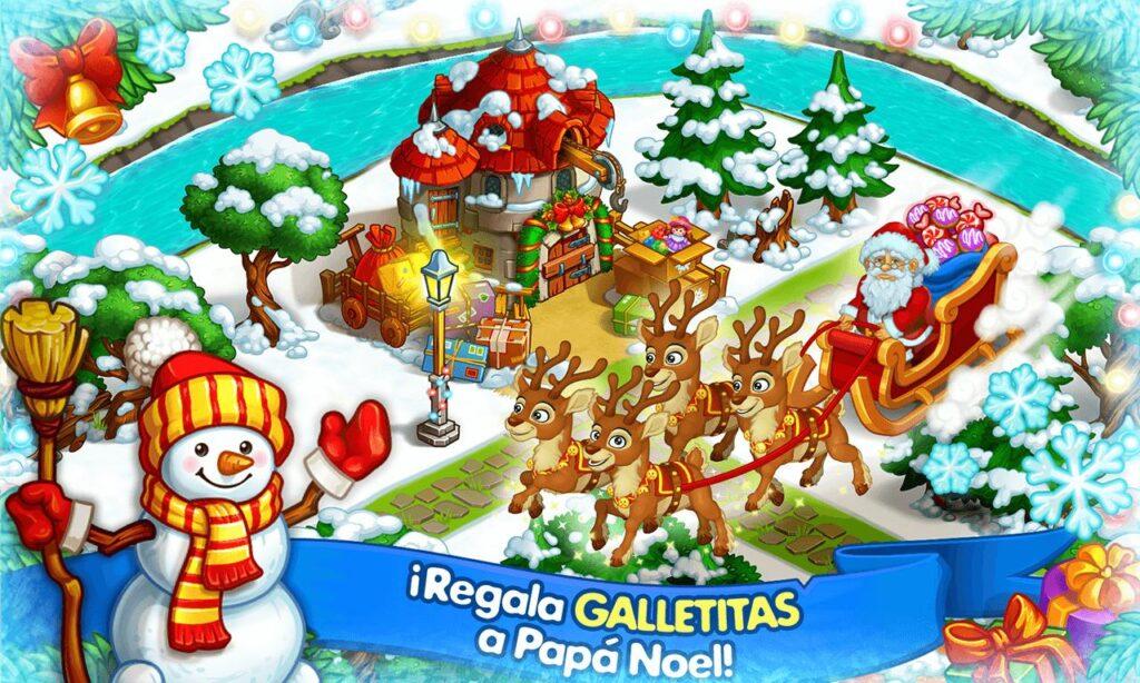 Granja Navideña de Papa Noel, un juego para disfrutar del espíritu de estas fiestas