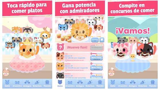 Gatos Glotones, un divertido y adorable juego para Android