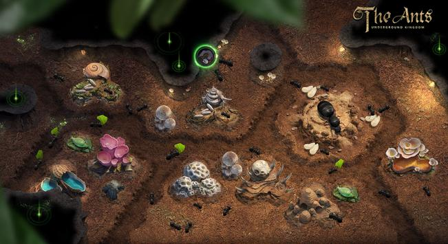 The Ants: Underground Kingdom, dirige a una colonia de hormigas en Android
