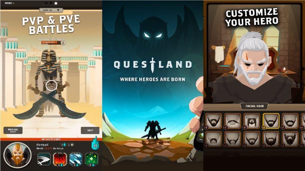Questland, un RPG de acción divertido y adictivo para Android